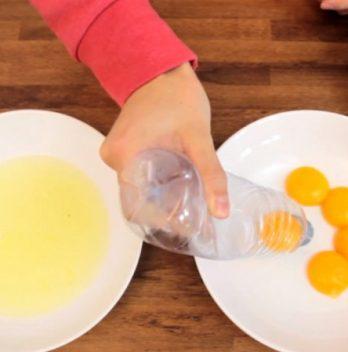 Comment séparer le blanc d'un jaune d'œuf