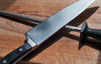 aiguiser un couteau de cuisine